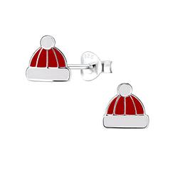 Wholesale Sterling Silver Hat Ear Studs - JD9669