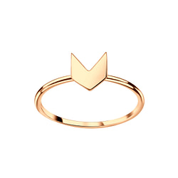 Wholesale Sterling Silver Arrow Ring - JD3571