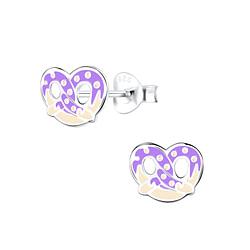 Wholesale Sterling Silver Pretzel Ear Studs - JD9421
