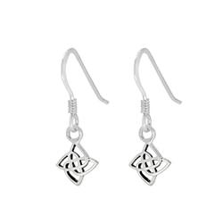 Wholesale Sterling Silver Celtic Earrings - JD1381