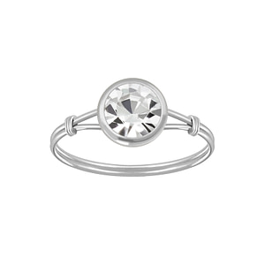 Wholesale Sterling Silver Handmade Solitaire Ring - JD3462