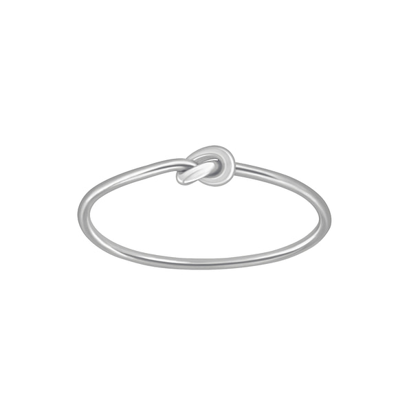 Wholesale Sterling Silver Knot Ring - JD3471