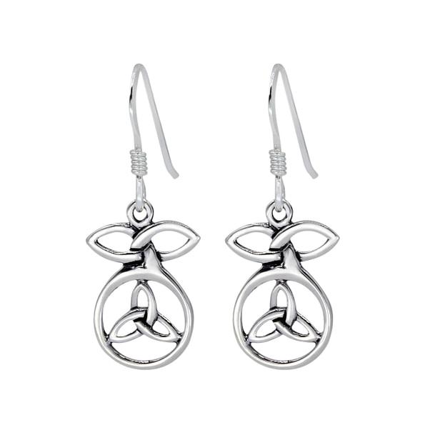Wholesale Sterling Silver Celtic Earrings - JD1402